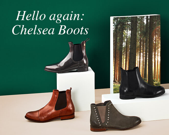Hello again: Chelsea Boots