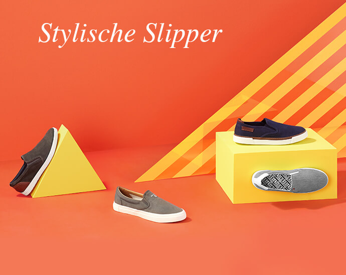 Stylische Slipper