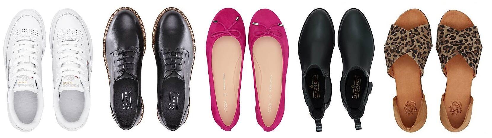 Damen Schuhe, feine und elegante Schuhe für Damen auf der