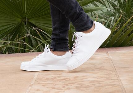 Ziemlich bequem adidas VS ADVANTAGE CLE Sneaker in weiß Herren